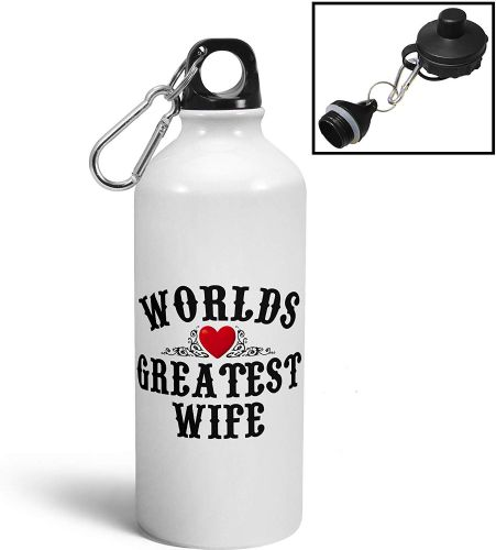 Worlds Greatest Relation (Female) Aluminium Sports Water Bottle/Canteen